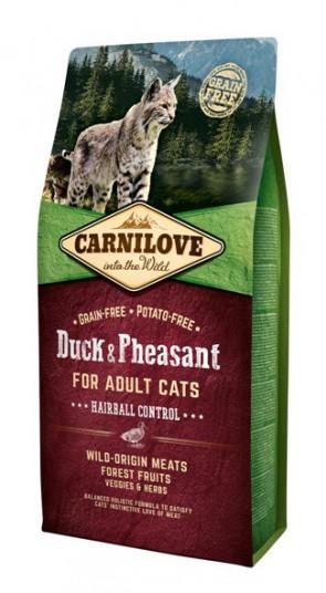 Carnilove Duck & Pheasant Hairball 2kg