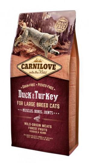 Carnilove Duck & Turkey Large Breed 400gr