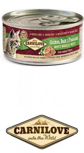 Carnilove Kat Kip, Eend & Fazant 100 gr