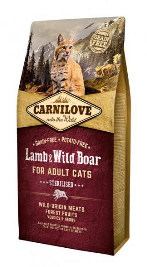 Carnilove Lamb & Wild Boar Sterilised 400gr