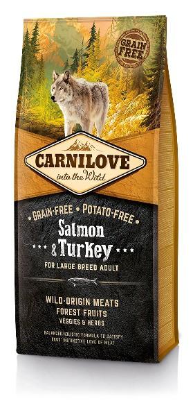 Carnilove Salmon & Turkey adult Large Breed 12 kg