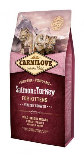 Carnilove Salmon & Turkey kittens 400gr