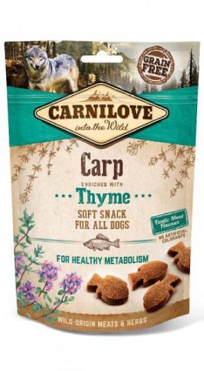 Carnilove Soft Snack Karper & Tijm 200gr
