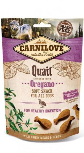 Carnilove Soft Snack Kwartel met Oregano 200gr