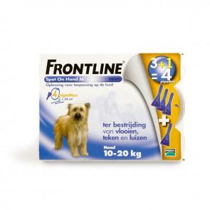 Frontline Spot On voor de hond 10 tot 20 kg.