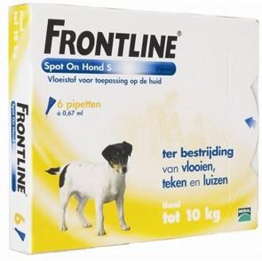 Frontline Spot On Hond 2 tot 10 kg.